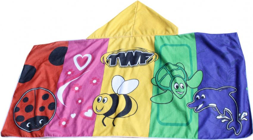 TWF BABY & TODDLER HOODED SWIM TOWEL